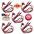 2-5x Pair Universal Probe Wire Cable Test Leads Pin For Digital Multimeter Meter
