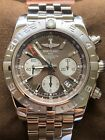 Breitling  Chronomat AB 042011/Q589 Warranty/Box/Papers (Excellent)