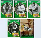 Lot of Honus Wagner 2005 Upper Deck Baseball Heroes Emerald Trading Cards