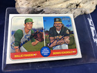 2018 Topps Heritage Rollie Fingers Dennis Eckersley Dual AUTO 19 25 Real One