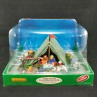 Lemax Village Collection Backyard Camping 03838 Table Accent 2010 NIB