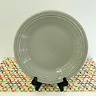 Fiestaware Pearl Gray Dinner Plate Fiesta Retired Grey 10.5 inch