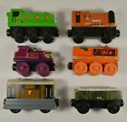LOT of 6 Thomas & Friends Wooden Railway Trains Rusty Toby GWR Lady etc