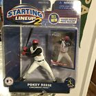 POKEY REESE Starting Lineup 2 MLB SLU 2001 Action Figure & Card CINCINNATI REDS