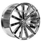 4 24 Velocity Wheels VW12 Chrome Rims B4