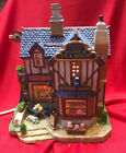 Lemax Village Porcelain Lighted Building ~ Melinda's Scone Tea Shop ~ IN BOX