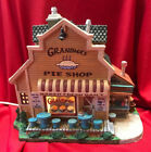RARE Lemax Harvest Crossing Village Building ~ GRANDMA'S PIE SHOP ~ RETIRED NIB