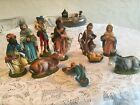 10 Piece Vintage Nativity from Italy