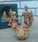 Fontanini by Roman Classic Holy Family Nativity Set 3 Piece 5 inch Scale