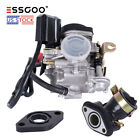 ESSGOO Scooter Carburetor GY6 50cc Four Stroke with Jet Upgrades Scooter Moped A