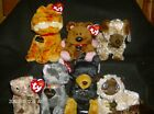 Garfield Set with Odie Pooky Louis Arlene Nermal Luca Ty Beanie Baby New - Mint