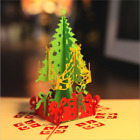 US 5PCs 3D Pop Up Origami Greeting Christmas Cards Stereoscopic Christmas Tree