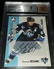 2005-06 ITG HEROES & PROSPECTS AUTOGRAPHS #ASC SIDNEY CROSBY *BGS 9 MINT*