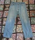 70s 80s Vintage LEVIS 501xx Hige Fade Denim Jeans 33 x 28 Made In USA 501