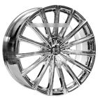 4 24 Velocity Wheels VW10 Chrome Rims B5