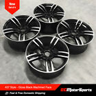 20 437 M 3 Style Wheels Black Machined Staggered for BMW F10 535i 550i