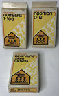 School Zone Flash Card Series Preschool Kids Reading Counting Tools 1984 Vintage