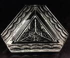 Lalique Cendrier Phalenes Art Deco Triangle Butterfly Dish Bowl Dresser Tray