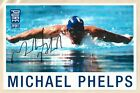 Michael Phelps Autograph Signed Photo Card 5.5