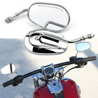 Motorcycle Chrome Rearview Mirrors For Harley-Davidson Sportster 883 XLH883 1200