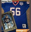 Authentic Lawrence Taylor Giants Mitchell Ness NFL Jersey Size Mens 48 RARE