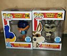 Funko Shop Pop Exclusive Looney Tunes Bundle Wile E. Coyote and the Road Runner