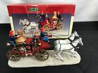 Lemax - Village Volunteers - Horse Drawn Fire Wagon - 03332