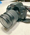 Canon EOS Rebel 1000D DSLR Camera with 3 lenses and accessories see listing