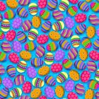 Hello Spring Easter Fabric Eggs Studio E New 2020 By the Yard BFab
