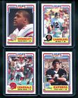 1984 Topps USFL Factory Set 132 Cards Steve Young Jim Kelly Walker White Rookie