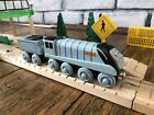 Thomas The Train SPENCER AND TENDER RFID Wooden Train Thomas & Friends