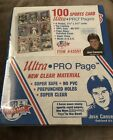 Ultra Pro Page 100 Pages Cards Sports Collector Brand New In Sealed Package 📦