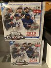 2-2019 Topps Chrome Update Sealed Box Lot Free Shipping
