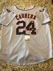 Miguel Cabrera Detroit Tigers Signed Authentic Jersey! Hof! Mvp! Psa AF74038