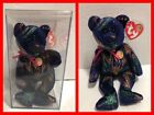 """TY BEANIE BABY OF THE MONTH """"Comet"""" Bear with Case & Tag Protector MINT"""