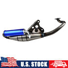 Exhaust Muffler Pipe Moped For 1E40QMB 1PE40QMB Engines Yamaha 50cc Scooter