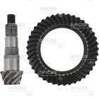 Dana Spicer DIFFERENTIAL RING AND PINION - DANA 30 Front 5.13 RATIO