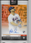 2019 TOPPS NOW PETE ALONSO ROOKIE OF THE YEAR AUTOGRAPH #'d 2 5 ON CARD AUTO