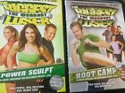 2 The Biggest Loser Workout DVDs Power Sculpt  Boot CampNEWSHIPS FREE