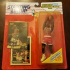 MICHAEL JORDAN 1993 STARTING LINEUP WITH EXCLUSIVE TOPPS COLLECTOR CARDS . BULLS
