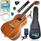 Ukulele Concert Size Bundle By Lohanu LU C All Accessories Included  2 Strap