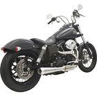 Bassani 1D1SS Road Rage III 2 Into 1 Exhaust System Harley FXD Dyna 91 17