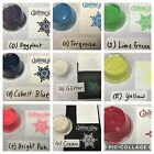 Embossing Powder 9 Sturdy Containers 1 oz Each Dark  Bright Set 12 For All
