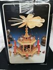 Complete Erzebirge Weihnachts Pyramid Tiered German Nativity Christmas Carousel