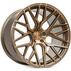 4 19 Rohana Wheels RFX10 Brushed Bronze Rims B7