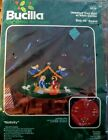 Bucilla NATIVITY Jeweled Christmas Tree Skirt or Table Center Kit 3576 NEW