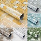 Mosaic Wall Tile Stickers Self Adhesive Anti Oil Waterproof For Kitchen Bathroom