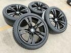 20 BMW 740i 750i OEM 6 7 Series wheels rims black 2016 2017 2018 71379 71380