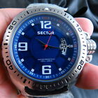 NEW ALL STEEL SECTOR 600 NO LIMIT WR 100M QUARTZ MEN WATCH FREE SHIPPING