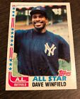 DAVE WINFIELD 1982 Topps #553 SIGNED BLUE INK AUTO AUTOGRAPH Card - HOF Yankees